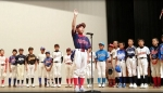 第24回若杉少年野球連盟会長杯(村田修一杯) 開会式に参加しました。